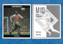 Arsenal David Rocastle England M103